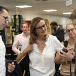 Wirtschaftsstaatssekretärin Katrin Schütz zu Besuch bei Zander-Freiburg
