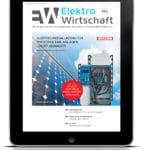 Die August-Ausgabe der ElektroWirtschaft ist da