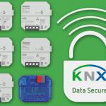 KNX UP RF Aktoren mit KNX Data Secure