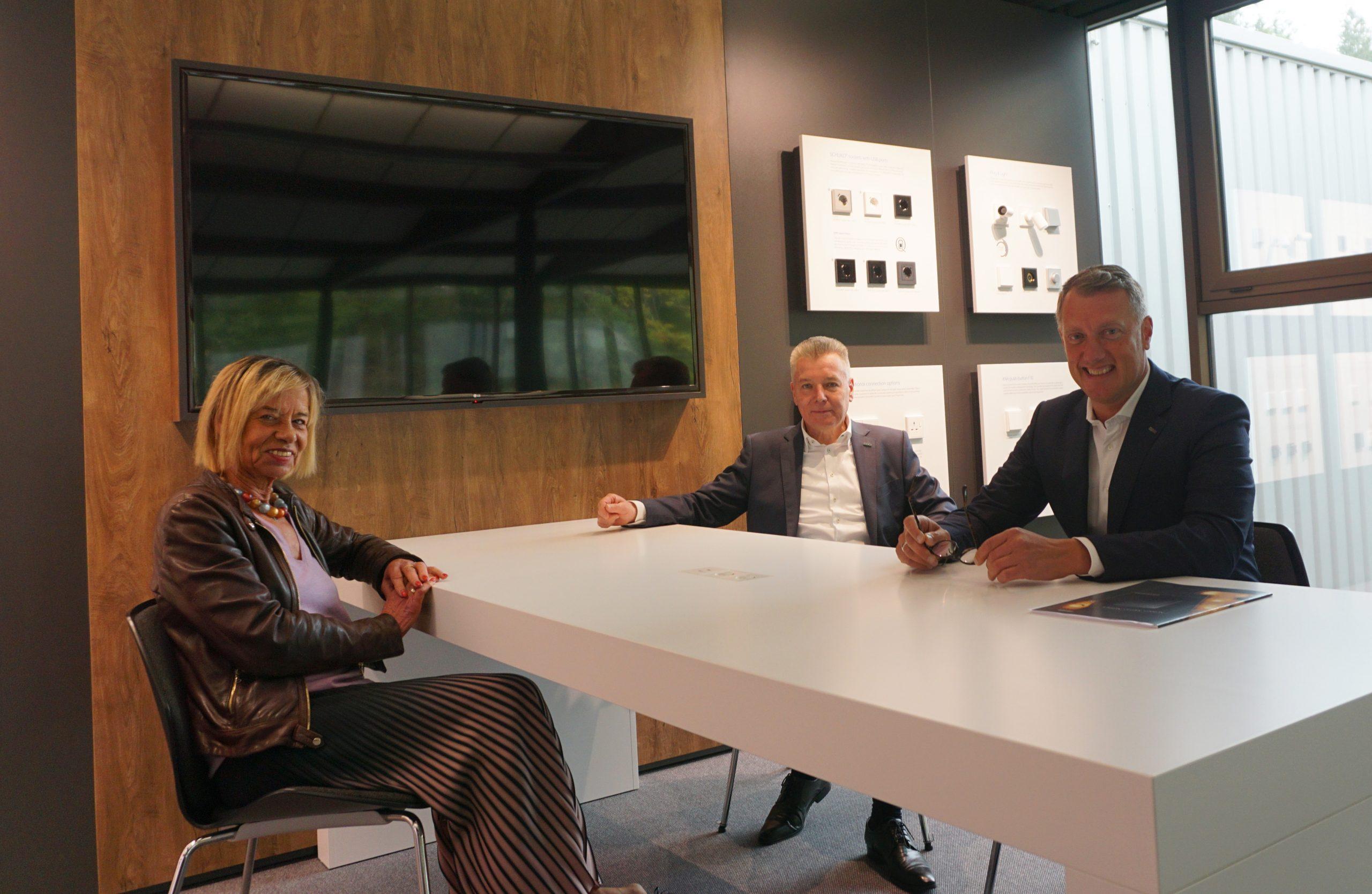 Gudrun Arnold-Schoenen, Ullrich Fichtner und Jürgen Kitz
