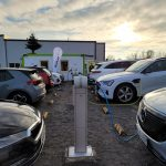 Start-Up eröffnet Ladepark