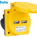 Industrietaugliche USB Ladesteckdose von Bals