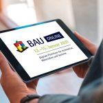 Die BAU Online ist gestartet