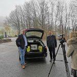 Brumberg: Kofferraumschulung auf dem Firmengelände