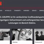EFG-Gruppe mit neuer Website