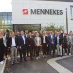 Junge Führungskräfte im VEG trafen sich bei Mennekes